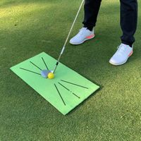 Durable Golf Swing Training Mat Indoor/Outdoor Sports thumbnail image