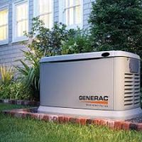 Generac Guardian 11kW Aluminum Standby Generator System (200A Service Disconnect + AC Shedding) w/ W thumbnail image