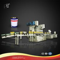 10-25L automatic round straight drum making machine