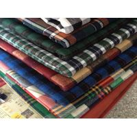 100% cotton Yarn dyed flannel fabric with construction in stock