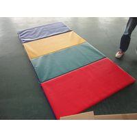 Eco-Friendly Soft PVC foam padded Gym tumbling rainbow Mat