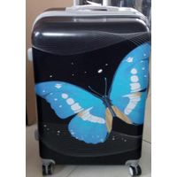 beauty 3pcs travel suitcase girls school trolley bag air plane boarding case