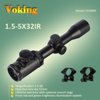 Voking 1.5-5X32 IR magnifier scope with your own APP