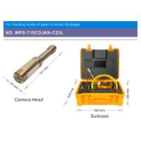 WOPSON Sewer Scope inspection camera in Pipeline Maintenance thumbnail image