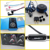 Black/white/pink SMS Audio SYNC by 50 Cent earphone mini sms audio by 50cent earphones with control