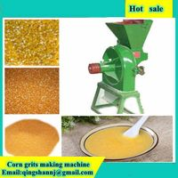 Corn crusher corn huller