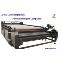 Fabric/Textile Laser Cutting Machine with auto-feeding worktable-JQ1630 thumbnail image