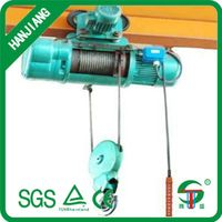 CD type wire rope electric hoist