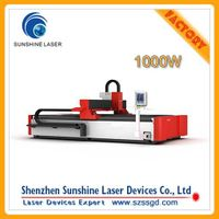 1000W fiber laser cutting machine from Shenzhen