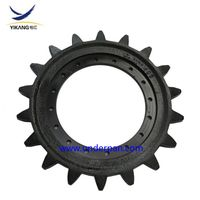 Morooka crawler dumper rubber track undercarriage MST 1500 sprocket for four pieces