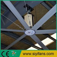 Shanghai siyi fans coltd big ceiling fan industrial ceiling fan 61m new energy efficient hvls ceiling large industrial fan aloadofball Choice Image