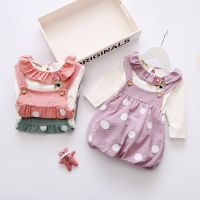 Autumn winter new kids fluffy dress pink children clothing suits thumbnail image