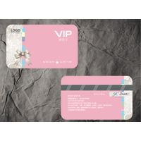 New York PVC VIP membership card and business card/name card printing Aikeyi Technology