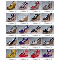 platform shoes (wedges, wedge heels, wedge heel shoes, platforms, ,sandals, shoes, footwear, ladies