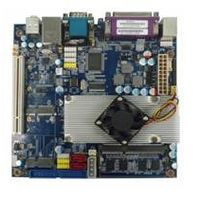 industrial cpu Intel D525 POS Motherboard With 2*COM Support single channel18bit LVDS connector