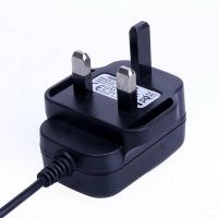 AC100V-240V to DC 5V 1.5A BS Plug Power Supply Adapter Wall Charger DC 5.5mm x 2.1mm 1500mA