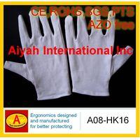 Economic Cotton Glove(CE, SGS, ROHS, AZO Free)(A08-HK16) thumbnail image