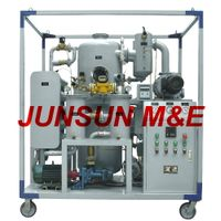 Double Stage Vacuum Dielectric Insulation Oil Purifier, JUNSUN ZYD Transformer Oil Treatment Plant thumbnail image
