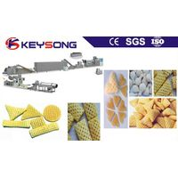 3d snacks pellet extruder / triangle hexogan pellet snacks machine