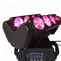 12W 8Eyes Spider LED Beam Moving Head Lights for club DJ show thumbnail image