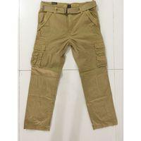 Green Field 100% Cotton Garment Dyed Mens Cargo Pants