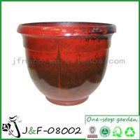 Decorative garden plastic pots and flowerpot (J&F-08002)
