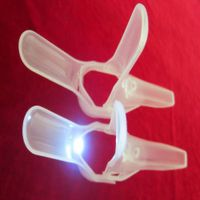 disposable plastic speculum with light source
