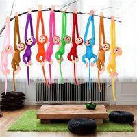 60cm Hanging Monkey Long Arm Plush Baby Toys Doll Kids DS-MK001 thumbnail image