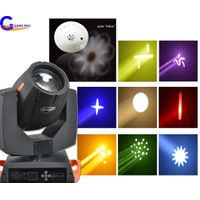 Fast response speed Good 7R 230W Beam Stage Moving Head Light
