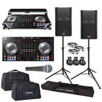 DDJ-SZ DJ Controller QSC K12 Powered PA Speakers Road Case & Stands thumbnail image