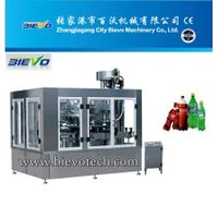 Carbonated drink automated filling machine