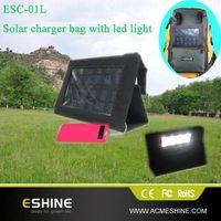 ESC-01L solar charger with led light , solar camping light thumbnail image