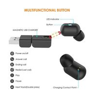 Mini Invisible Smallest Wireless Bluetooth Headphone for iPhone and Andriod Phones-DSDIA thumbnail image