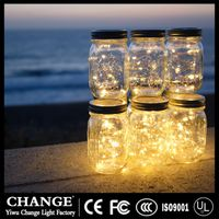LED glass bottle Copper wire Fairy String Light Holiday Lamp Wedding Christmas Festival home Decor thumbnail image