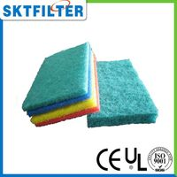 kitchen dish colorful sponge scouring pad