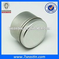 2014 small round flavour candle tin can/ tinplate wax packaging box wholesale thumbnail image