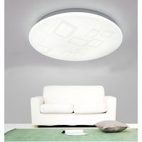 Modern and simple acrylic bebroom LED ceiling light 24w 30w Surfaced mounted LED flush mount light thumbnail image