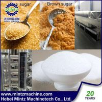 new technology raw Sugar 4000 ICUMSA refinery white sugar 35-45 ICUMSA machinery