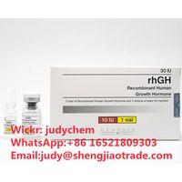 rhGH genesis HGH Recombinant Human Growth Hormone injectable peptide rhGH 10iu 30iu Wickr:judychem