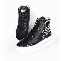 causal shoes ,genuine leather shoes , calf sneaker ,Punk shoes