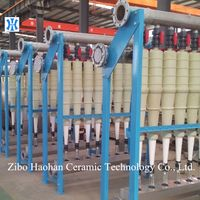 Low consistency waste paper pulp cleaner
