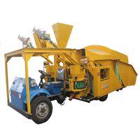 automatic feeding dry shotcrete truck thumbnail image