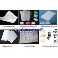 pvc card printing material