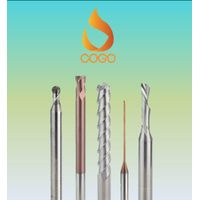 Korea Carbide End Mill, Strong for CBN, High Hardened Steels, Diamond Coating End Mill