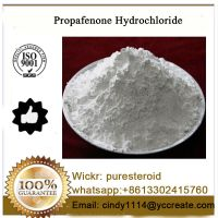 Pharmaceutical Raw MaterialPropafenone Hydrochloride For Health Care