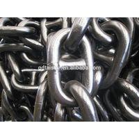 U1 U2 U3 HDG&Black Marine welded stud link anchor chain with good quality