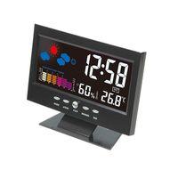 Weather Forecast Color Screen Clock Temperature Trend Humidity Alarm Clock thumbnail image