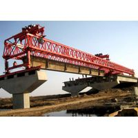 Double truss highway bridge erecting machine beam launcher price