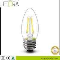 FREE SAMPLE China Supplier E12 E14 Dimmable LED Filament Bulb C35 LED Candle Light 2W 3W 5W