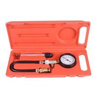 Petrol Gas Engine Cylinder Compressor Pressure Gauge Meter Tester
